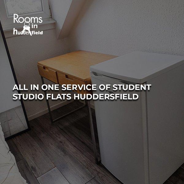 Student studio flats Huddersfield